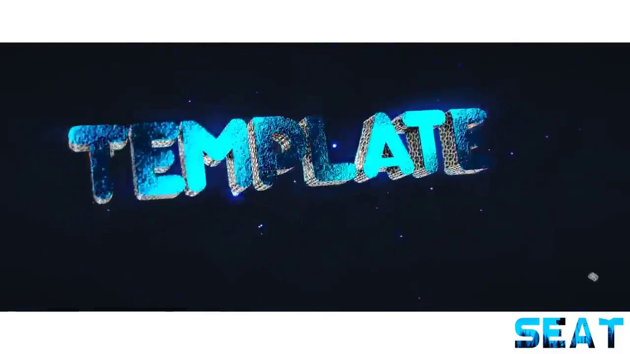 Multicolor Titanium Intro template Blender only EDM Intro template