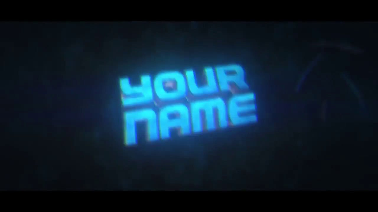 icy blue 3d after effects cinema 4d intro template