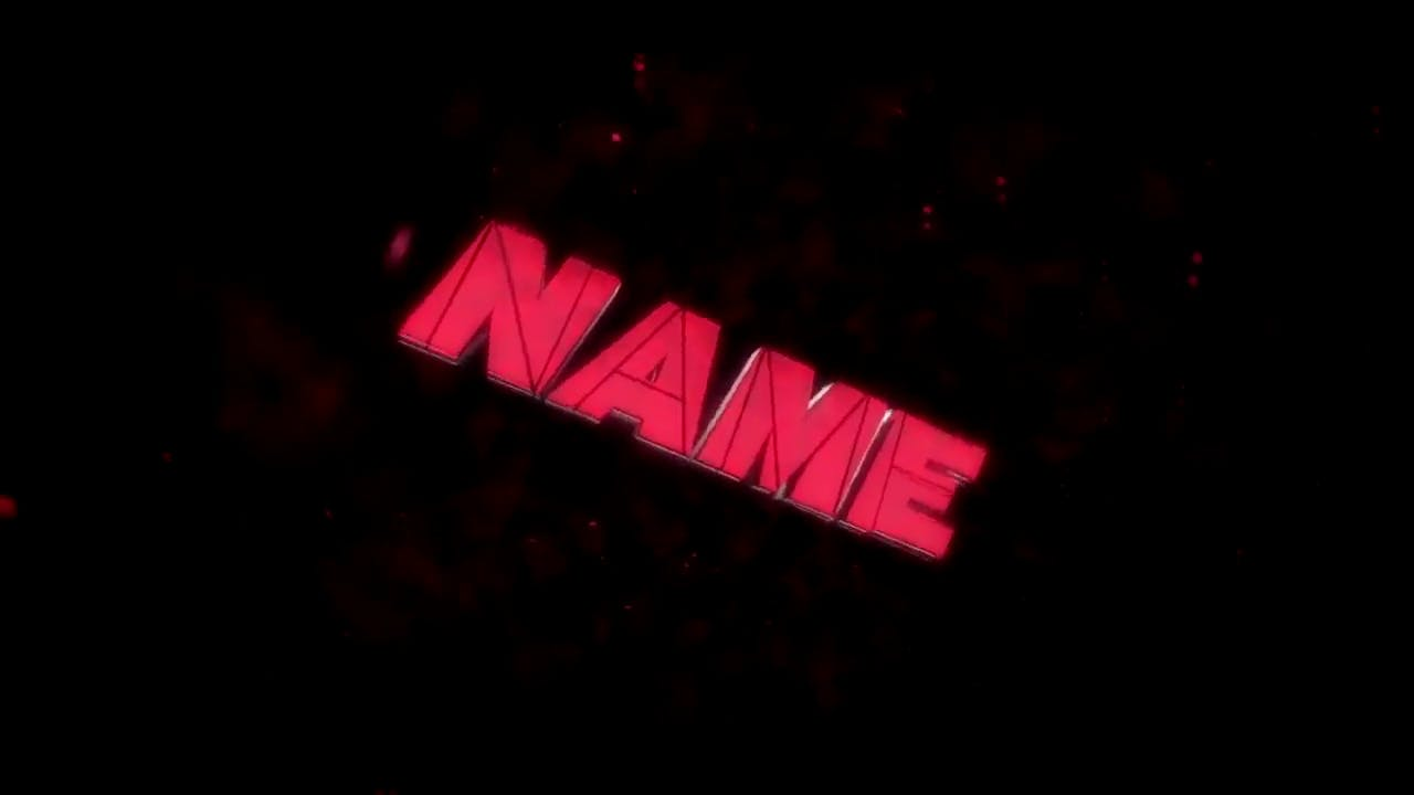 Explosive Metallic Red Dual Intro template EDM After Effects Cinema 4D