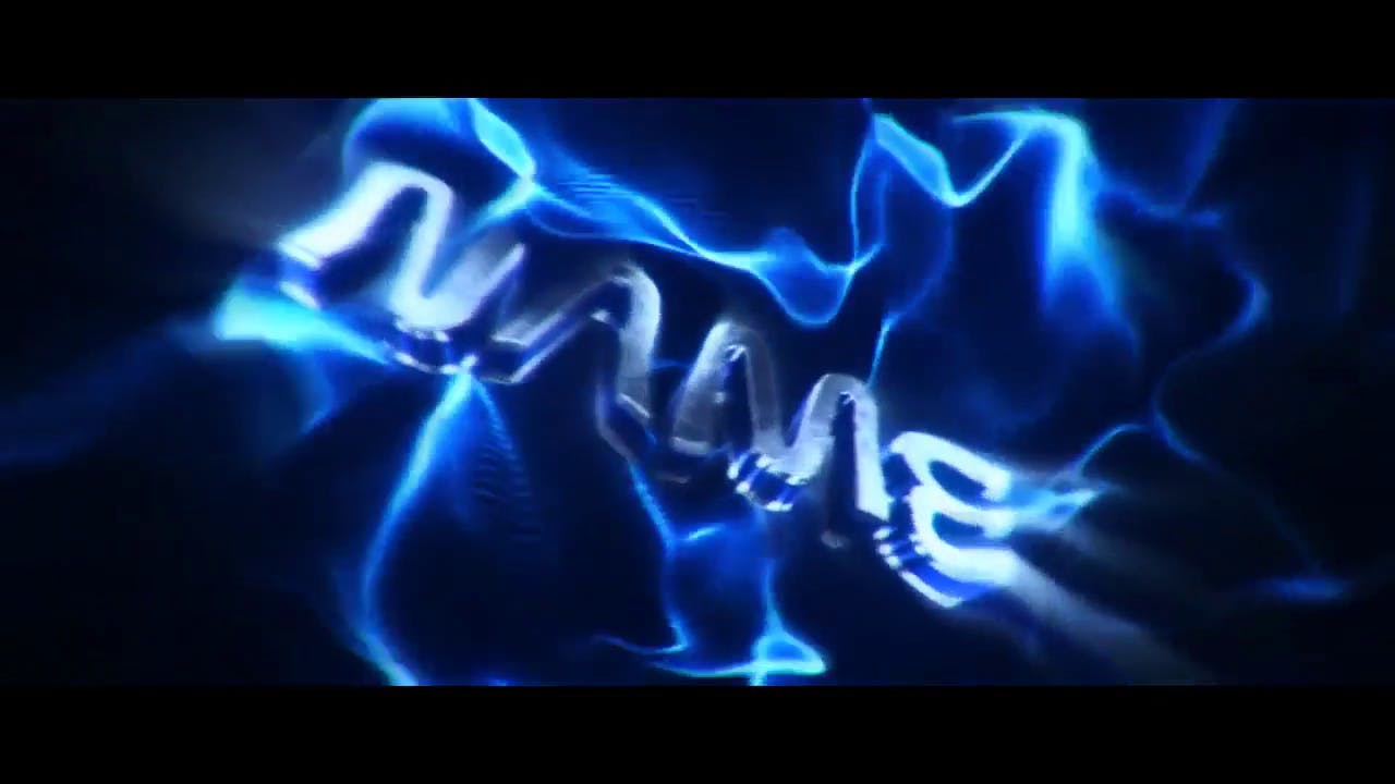 Electric Blue Silver After Effects Cinema 4D Intro template