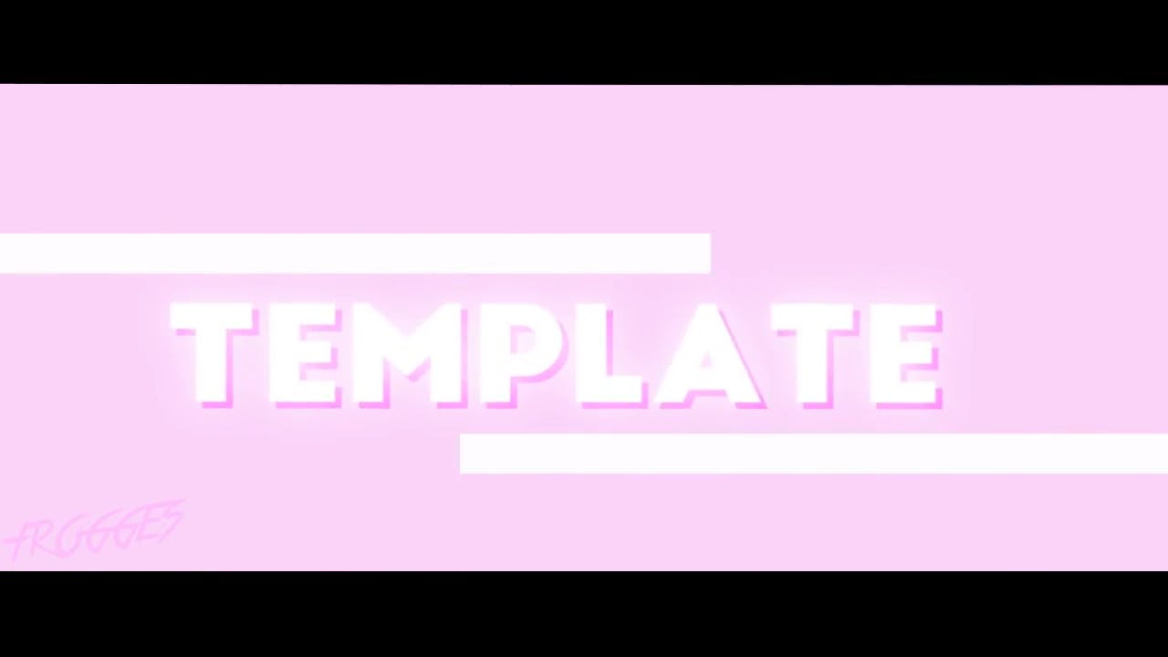 Simple Pink White Sony Vegas Intro template