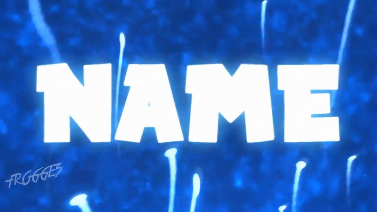 Bouncing Blue Background Sony Vegas Intro template