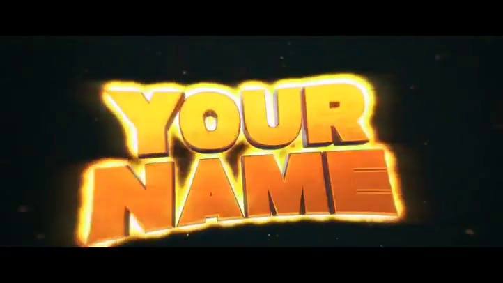 golden glow after effects and cinema 4d intro template