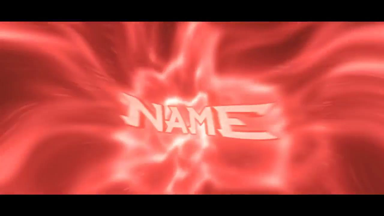 Red Hip Hop themed 3D intro template After Effects and Cinema 4D