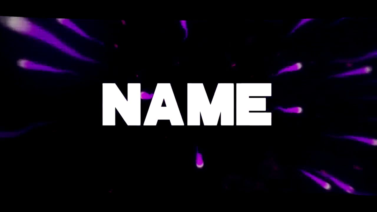 Purple Background Explosion Sony Vegas Intro template