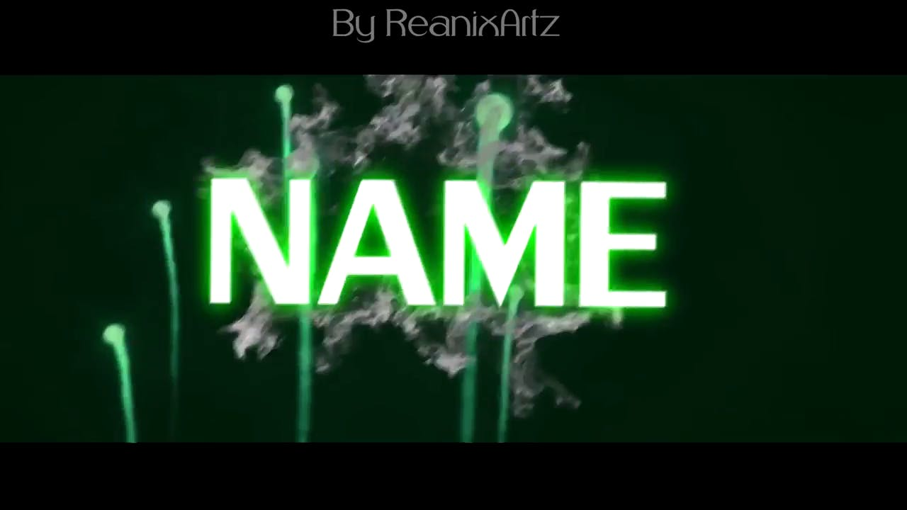 Green Explosion Sony Vegas 2D Intro template