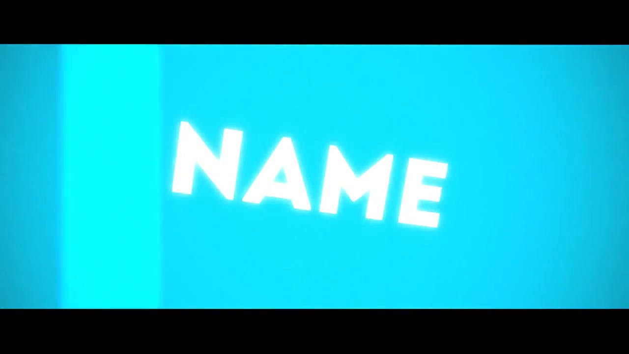 Simple Sky Blue Background Sony Vegas Intro template