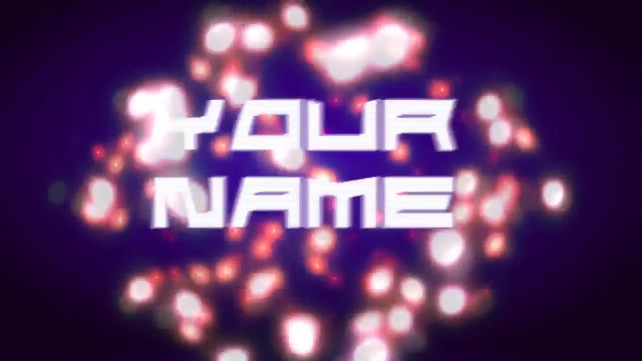 Amazing Red and White Light Explosion Sony Vegas 3D Intro template