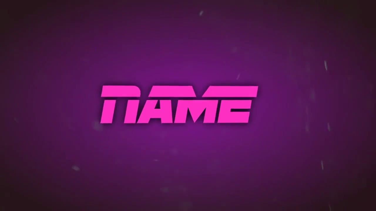 Awesome Hot Pink Sony Vegas Intro template