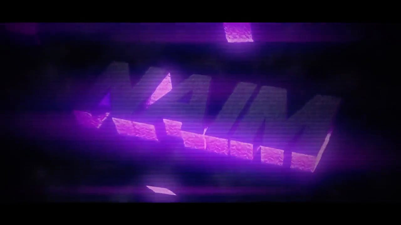 Purple and Grey Intro template Blender After Effects