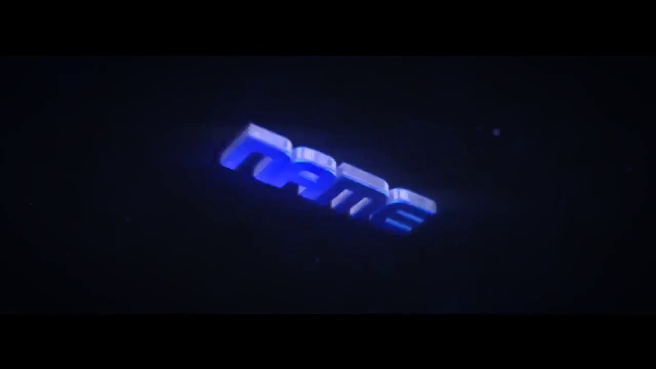 Cool Pure Blue After Effects Cinema 4D Intro template