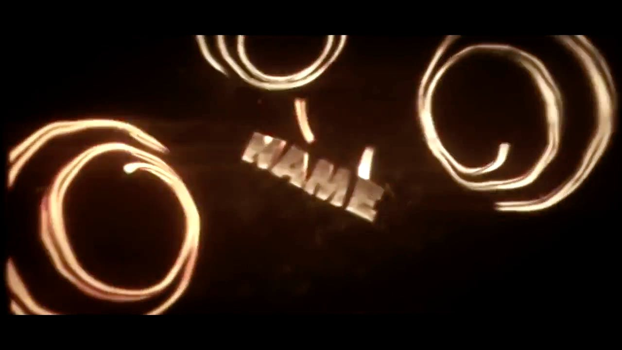 Fiery Rose Gold Sync After Effects Cinema 4D Intro template