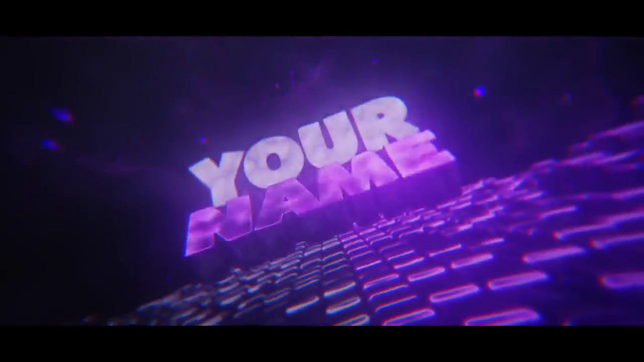 Revolving Multicolor After Effects Cinema 4D Intro template