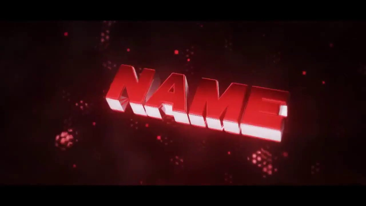 Fiery Red 2 in 1 Cinema 4D After Effects Intro template