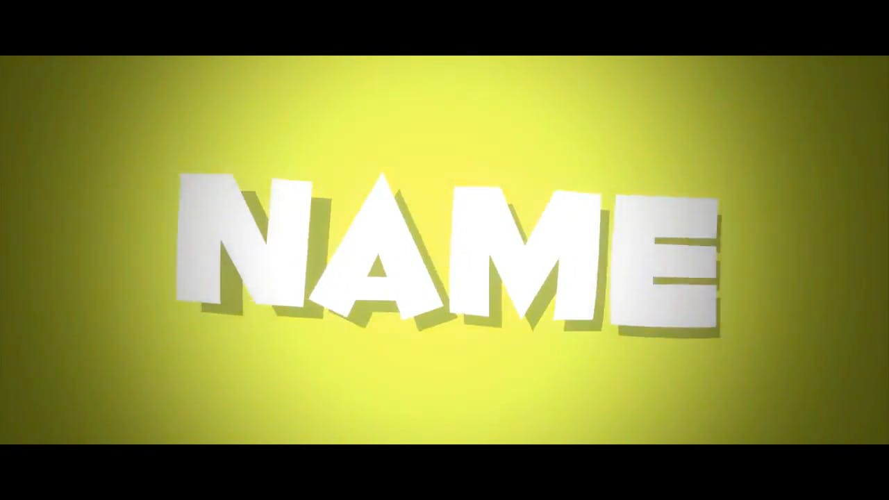 Simple Background Color Change Blender Only Intro template