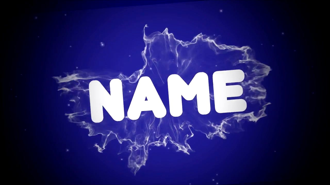 Plain Blue Background SYNC Sony Vegas Intro template