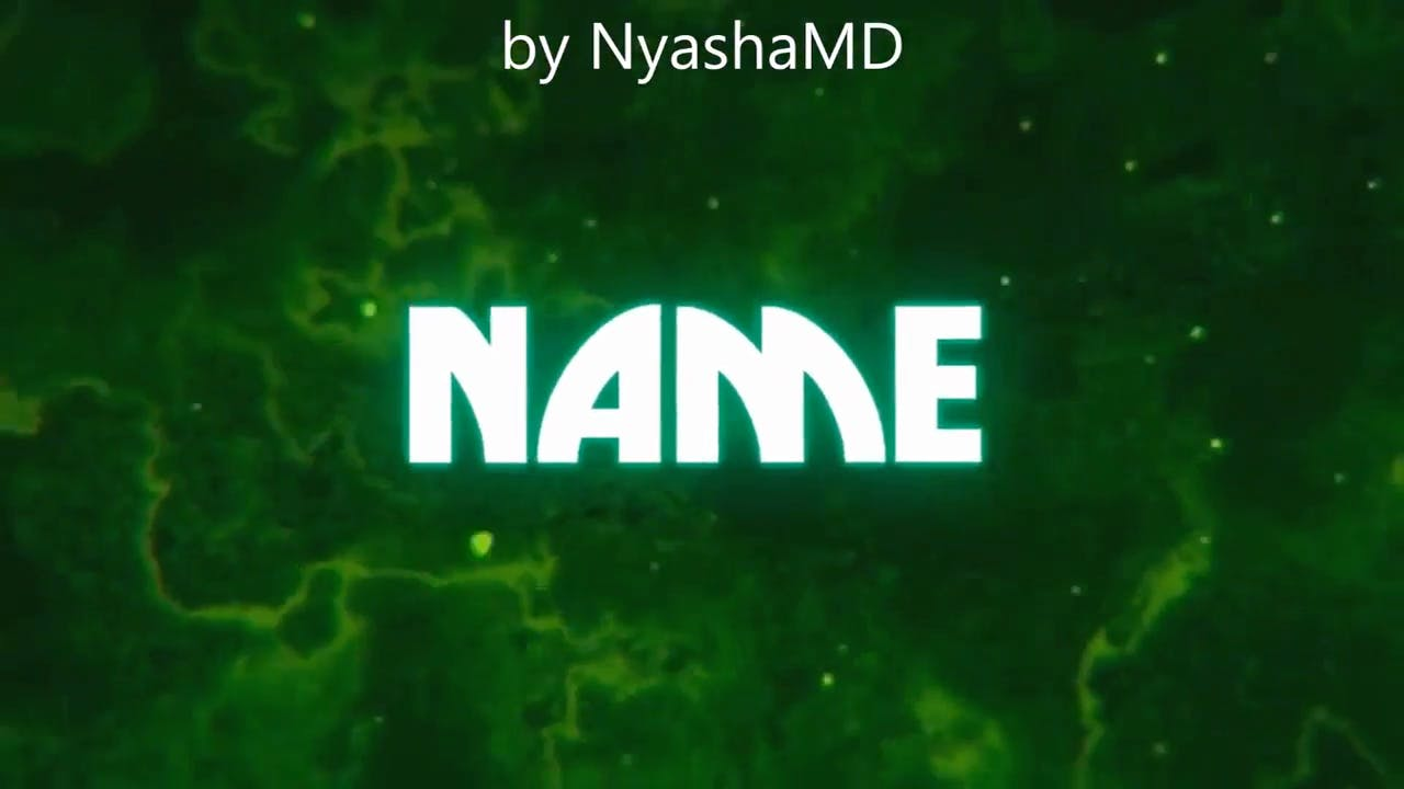 Crazy Green Explosion Sony Vegas Intro template