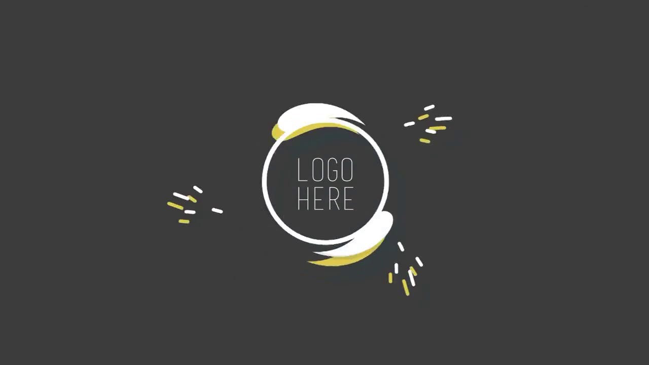 Beautiful Colors 2D After Effects Logo Reveal