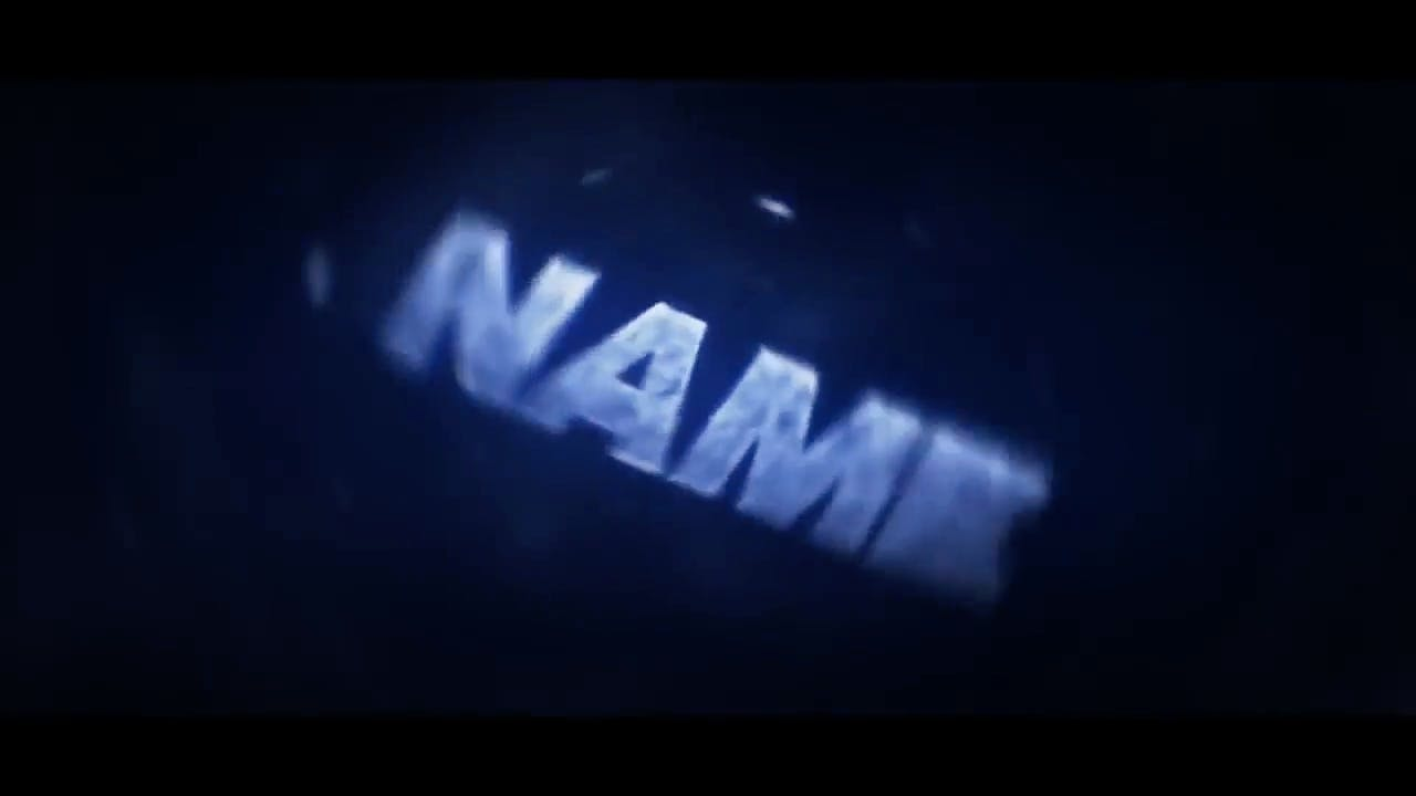 Insane Blue SYNC Cinema 4D After Effects Intro template
