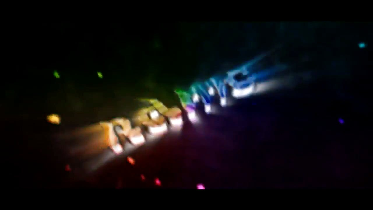 Zebra Multicolor Cinema 4D After Effects Intro template