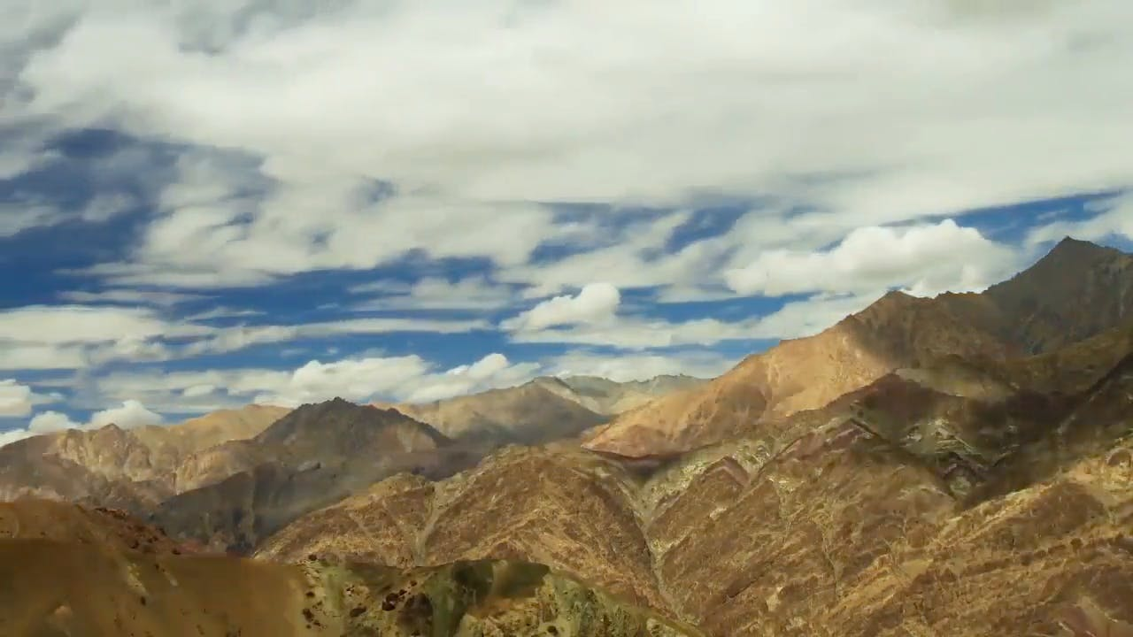 Timelapse of Mountains