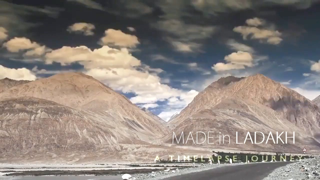 Dhaka Mountains and Sky Timelapse