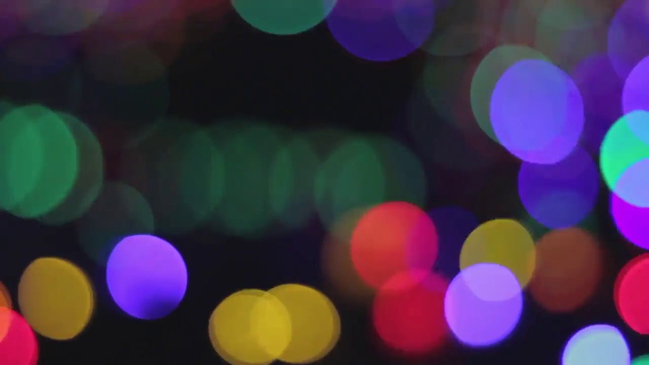 Abstract Bokeh Pan