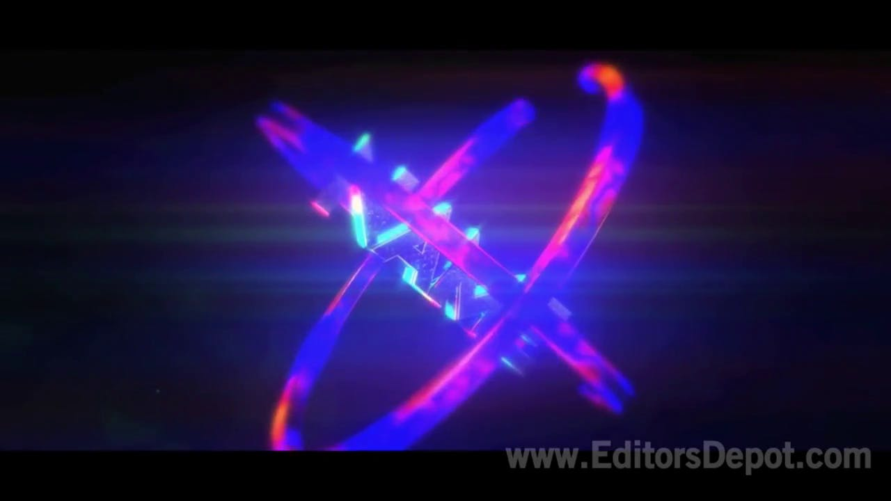 Free Color Blast After Effects and Cinema 4D Intro Template