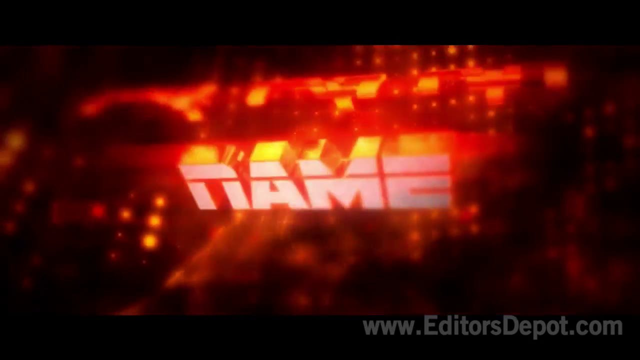 Fire Red Pumps After Effects and Cinema 4D Intro Template