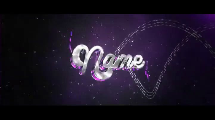 Awesome After Effects and Cinema 4D Gold Multicolor Intro Template with Tutorial