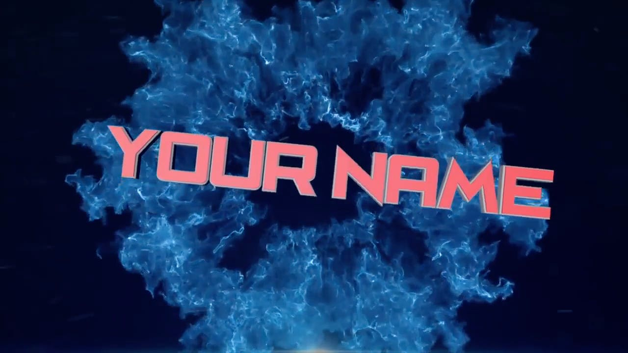 AFTER EFFECTS C4D Blue Burst FREE 3D Intro Template