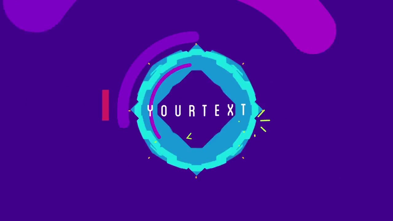 Beautiful Shapes Colors After Effects