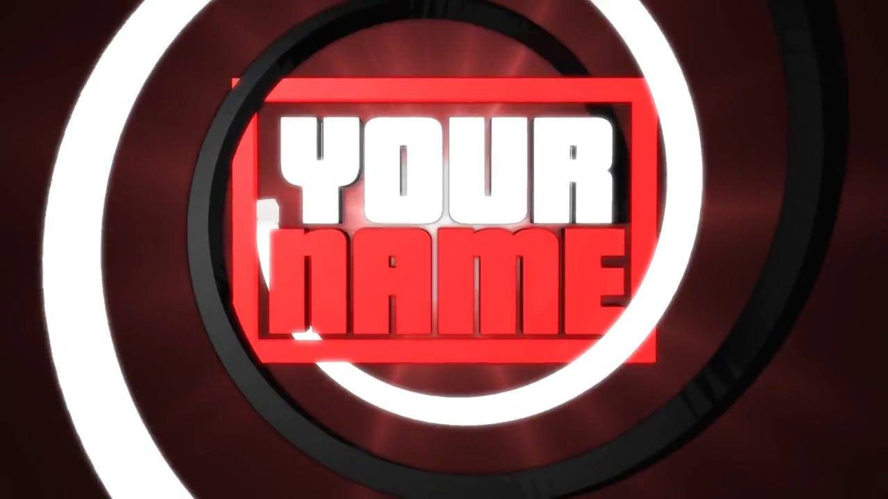 Red and White sony vegas intro template C4D AE Sony vegas Download in description