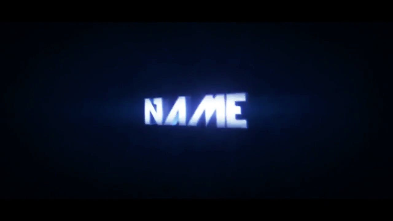 Free Waving Blue Cinema 4D After Effects Intro Template