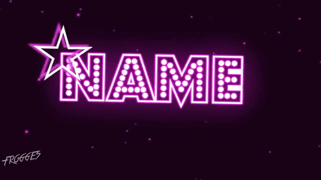 Starry Purple Beating Sony Vegas Intro template