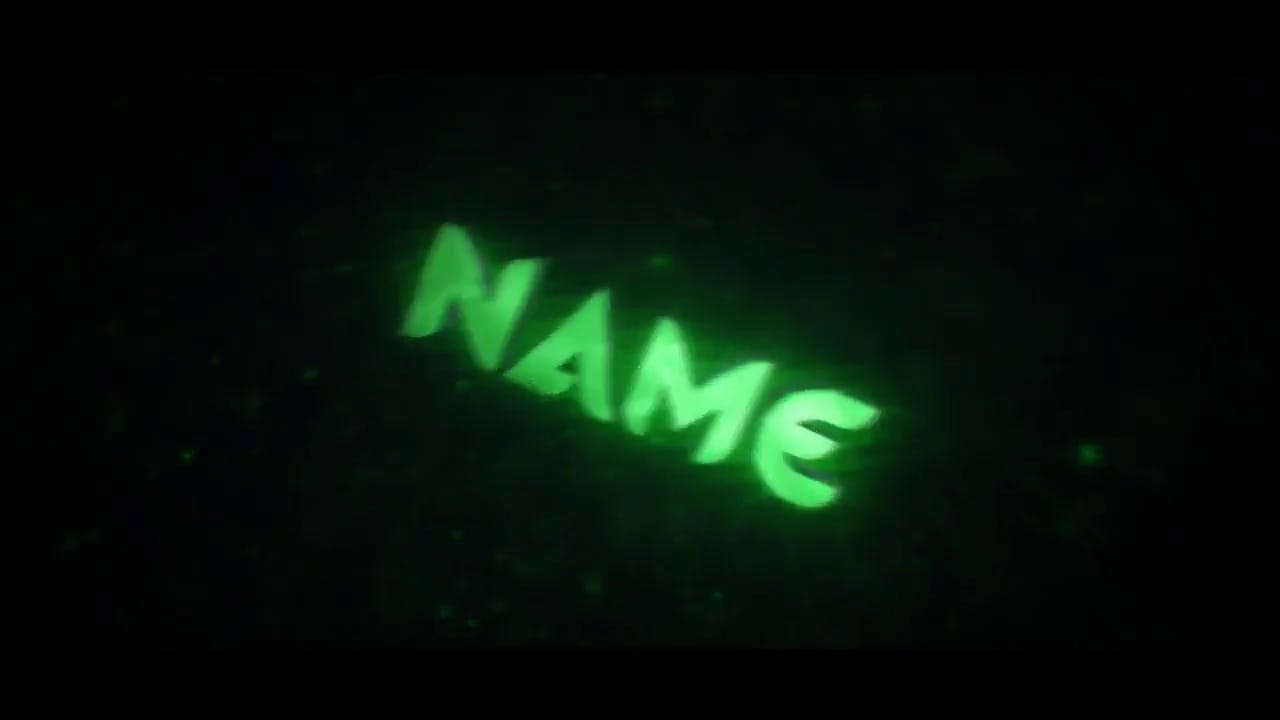 Cool Mint Green Cinema 4D After Effects Intro Template