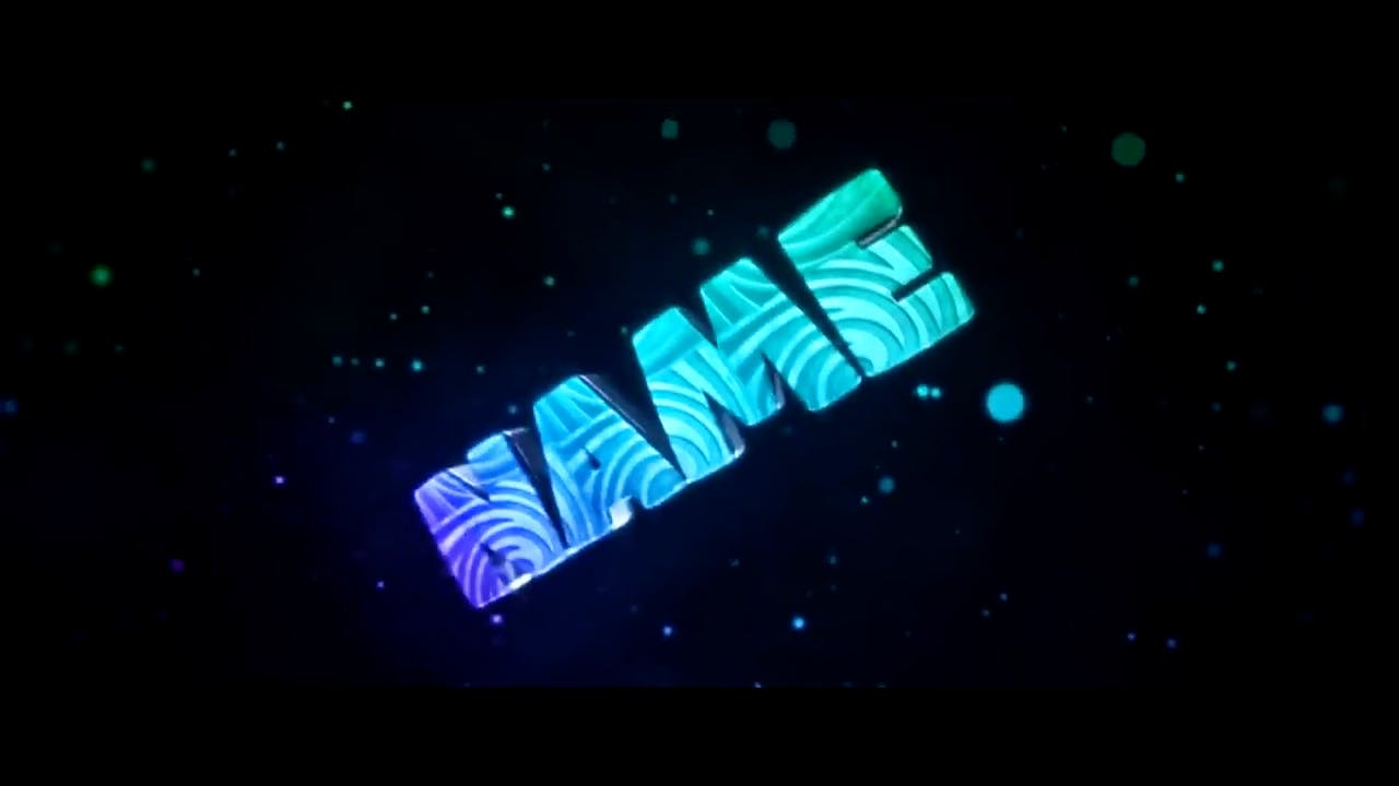 Awesome Dual Blue Cinema 4D After Effects Intro Template
