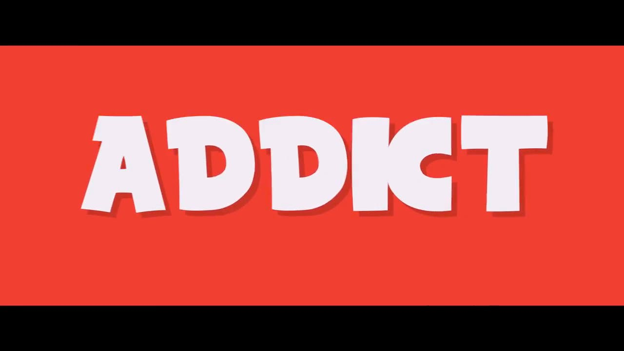 Free Red ADDICT After Effects Intro Template