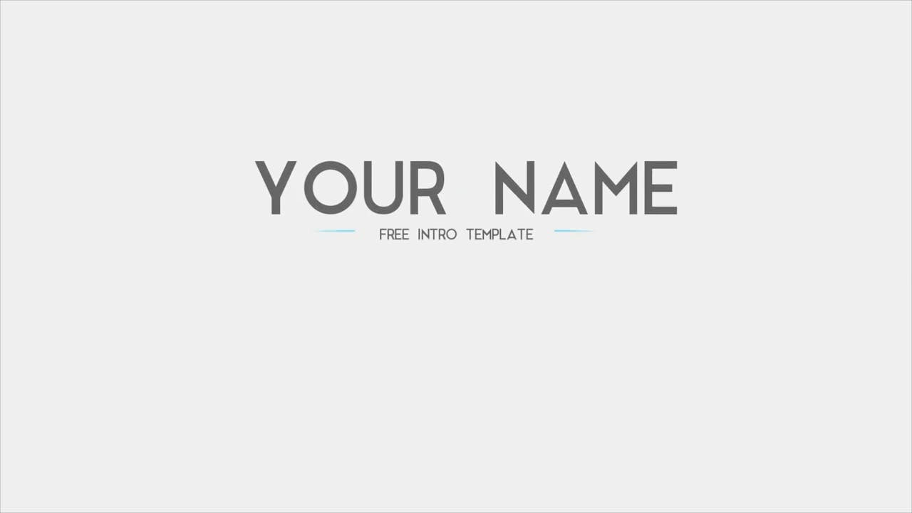 Free Clean Shapes 2D Sony Vegas Intro template