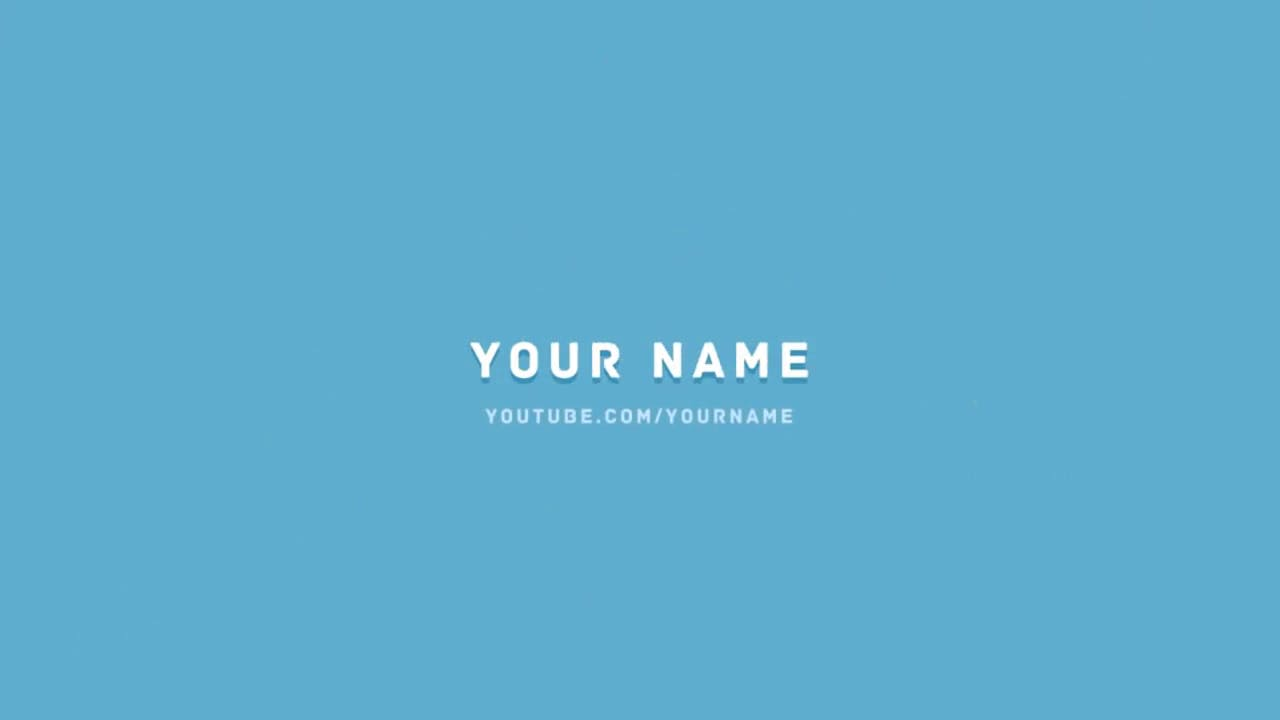 Free 2D Multicolor After Effects Intro Template