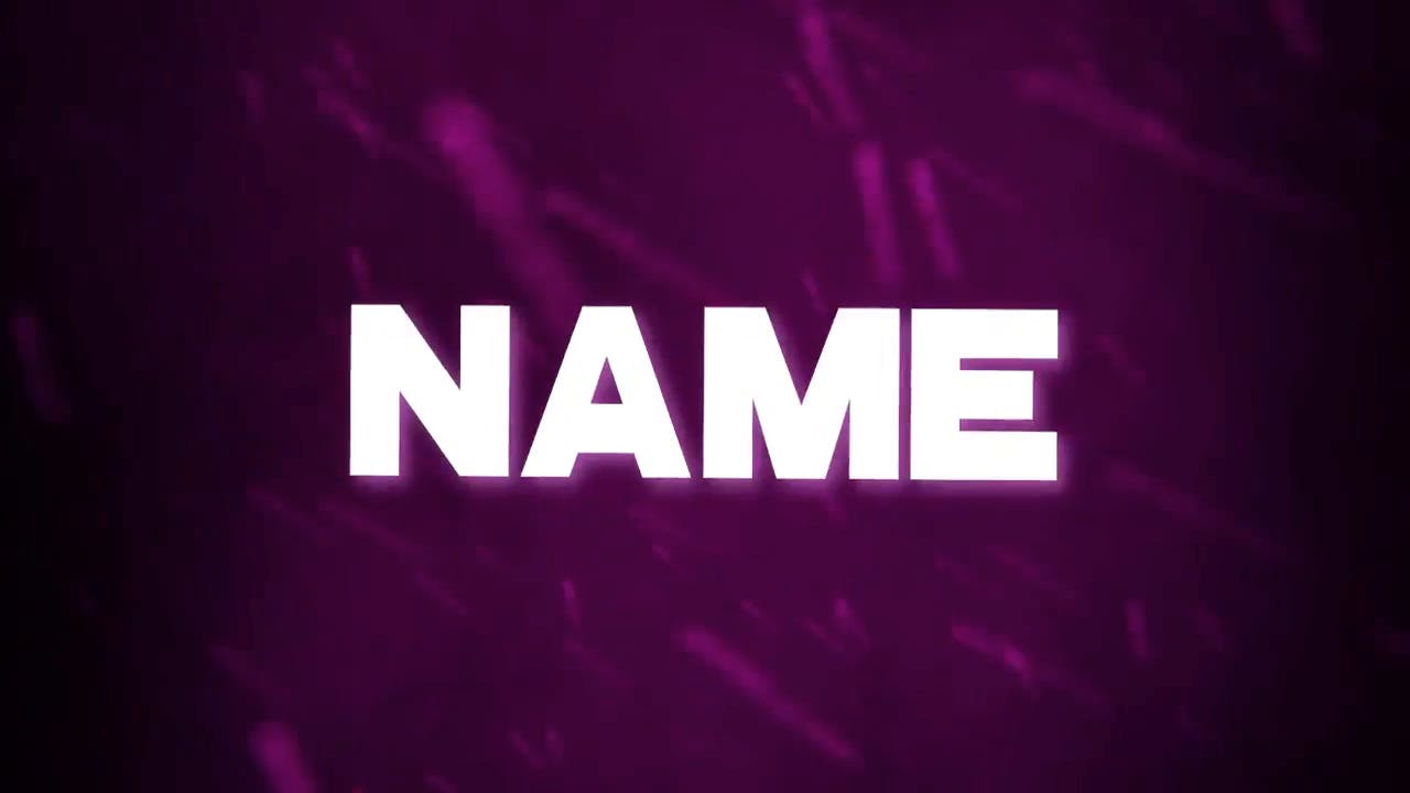 Dancing Purple SYNC Sony Vegas Intro template