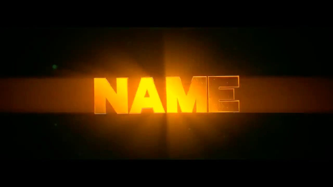 Amazing Yellow Blender Only Intro template