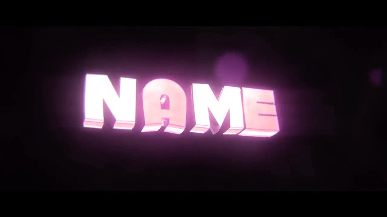 Classy Pink Cinema 4D After Effects Intro Template