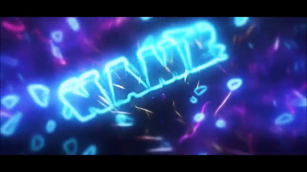 Cool Glowing Multicolor Cinema 4D After Effects Intro Template
