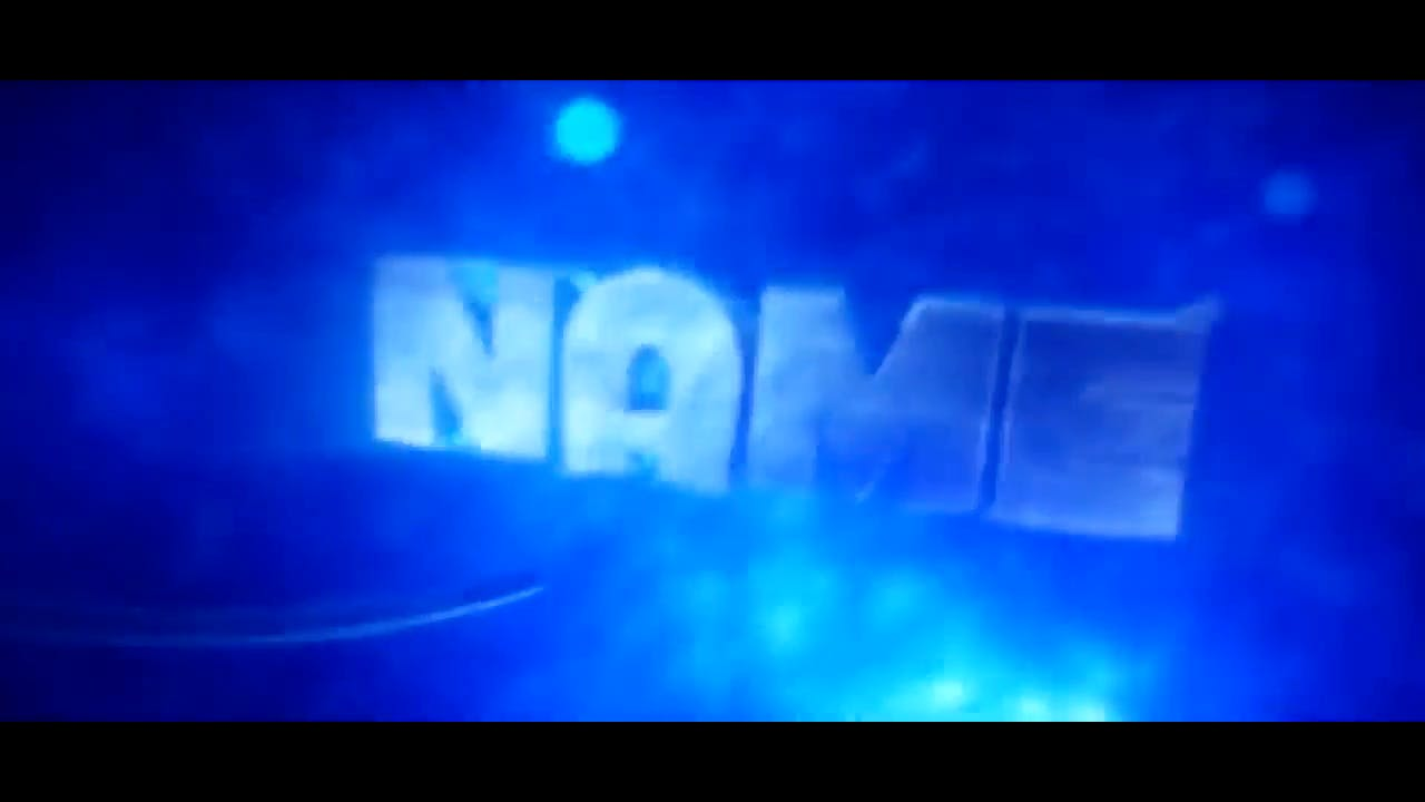 Blue Fast Spinning Multicolor Cinema 4D After Effects Intro Template