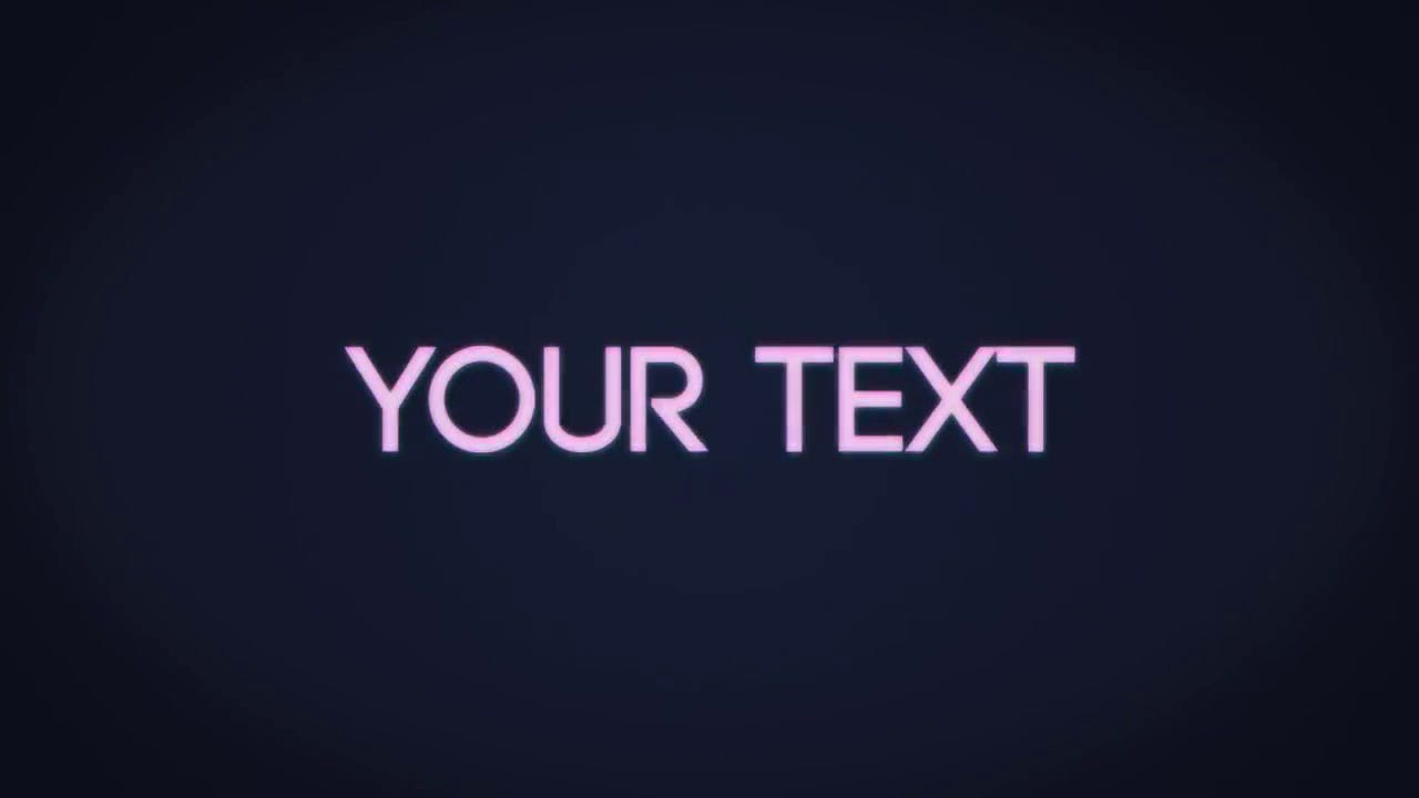 Cool Elictric After Effects Intro Template