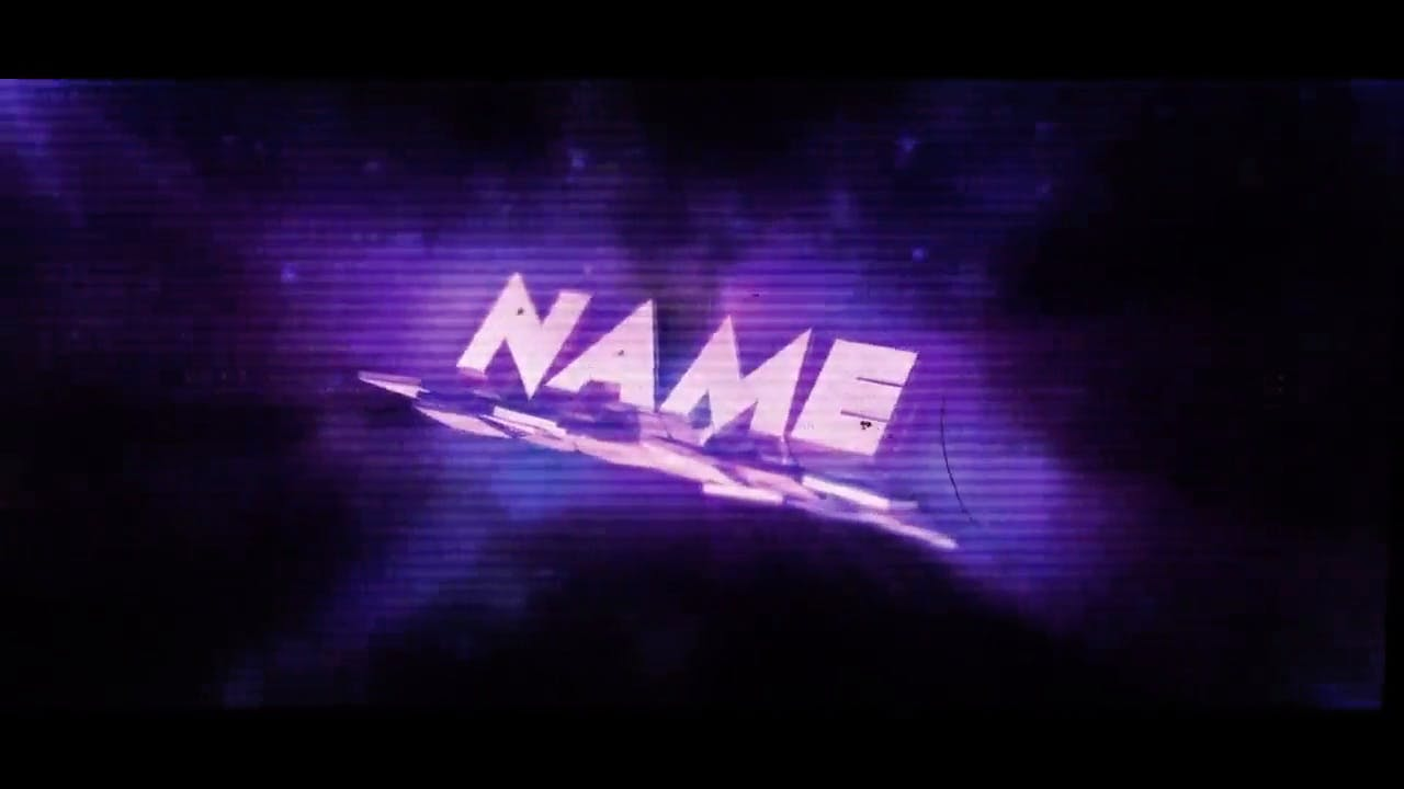 Free Download Chill Purple Cinema 4D After Effects Intro Template
