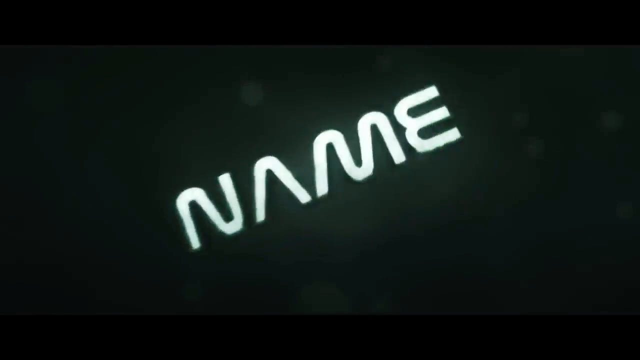 Classic black white Cinema 4D After Effects Intro Template
