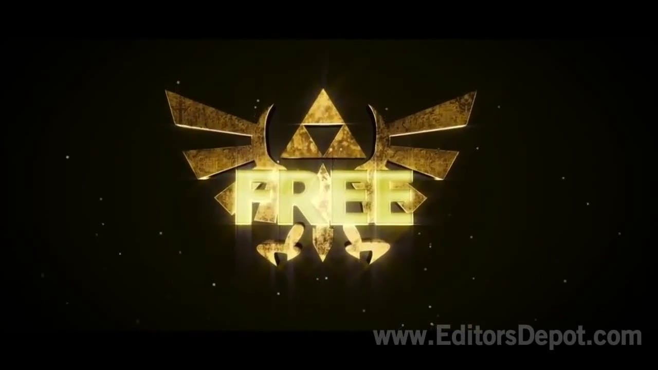 Zelda Themed 3D Intro Template