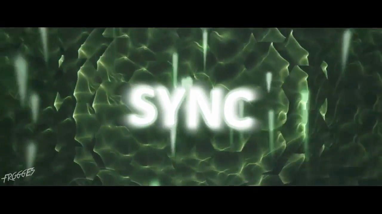 Amazing SYNC in greenbackground Sony Vegas Intro template
